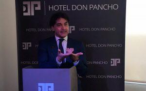 La inauguracion del hotel don pancho