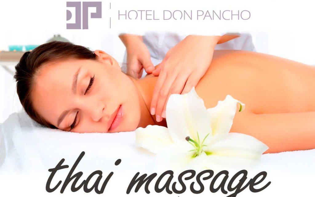Disfruta de nuestro masaje thai