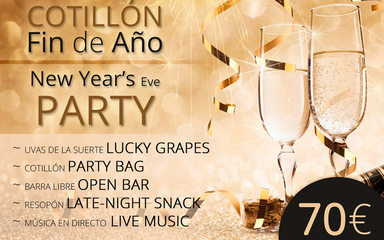 New year's eve party at Hotel Don Pancho