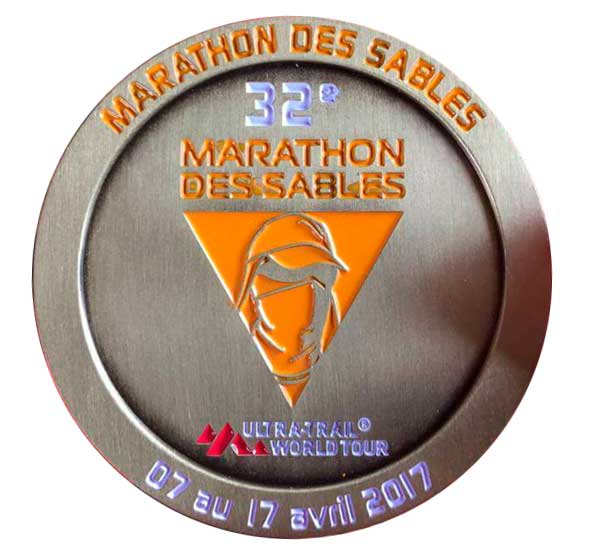 Medal of the marathon dessables