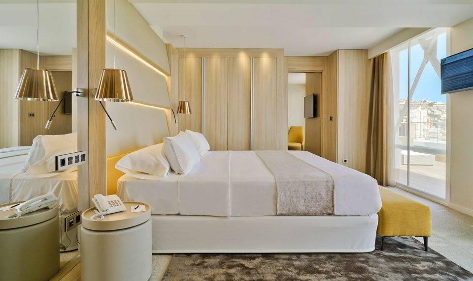 Ático Suite. Habitación de más alto nivel en el Hotel Don Pancho