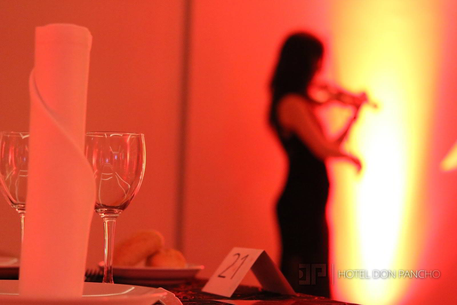 Have a violinist play for you at dinner