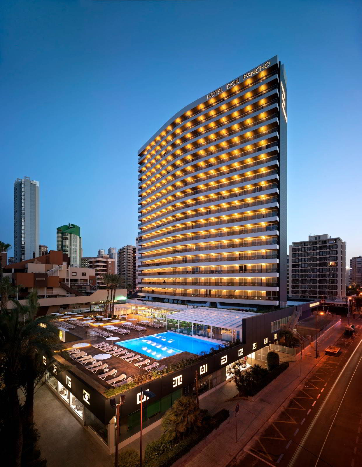 Hotel Don Pancho in Benidorm