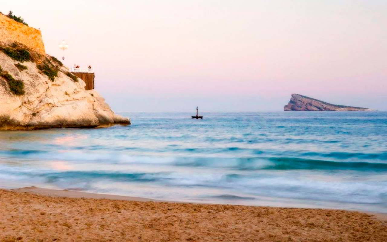Benidorm beaches to relaxation
