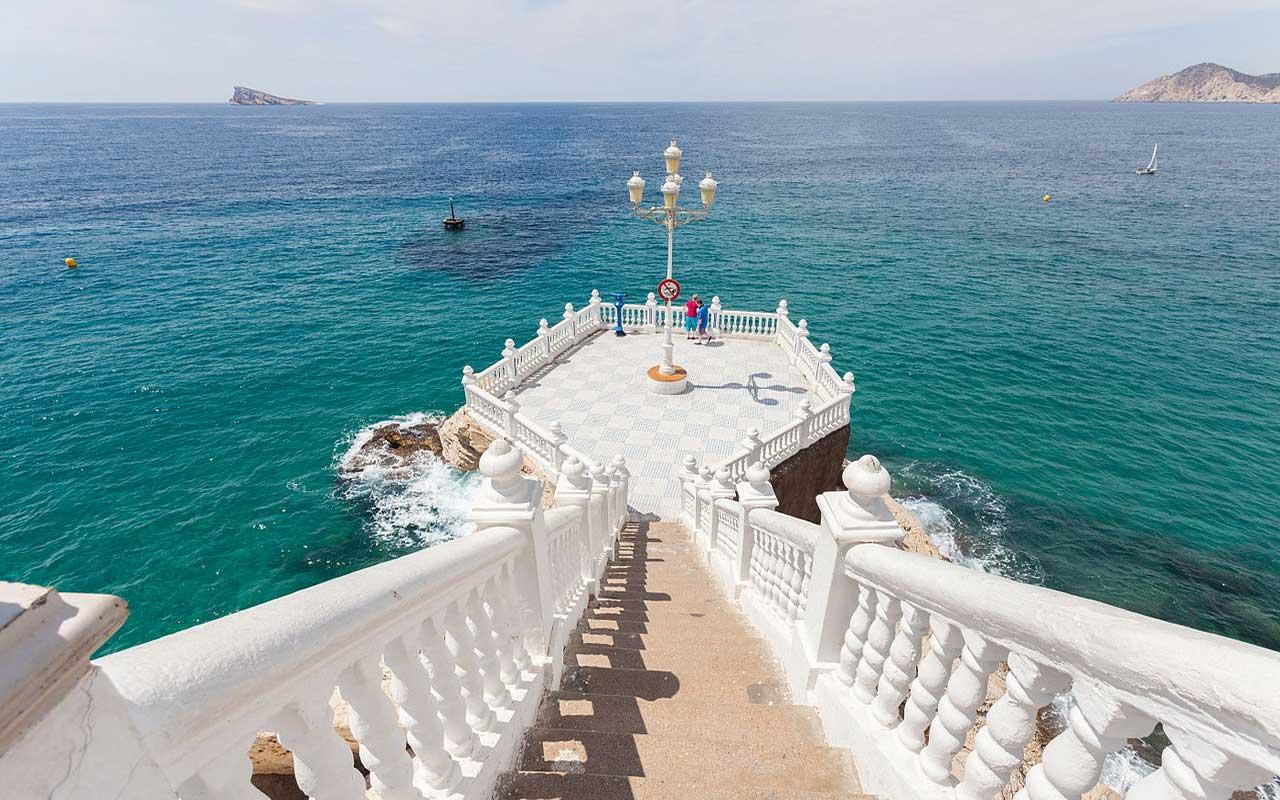 Balcón del Mediterráneo, un lugar para ver en Benidorm