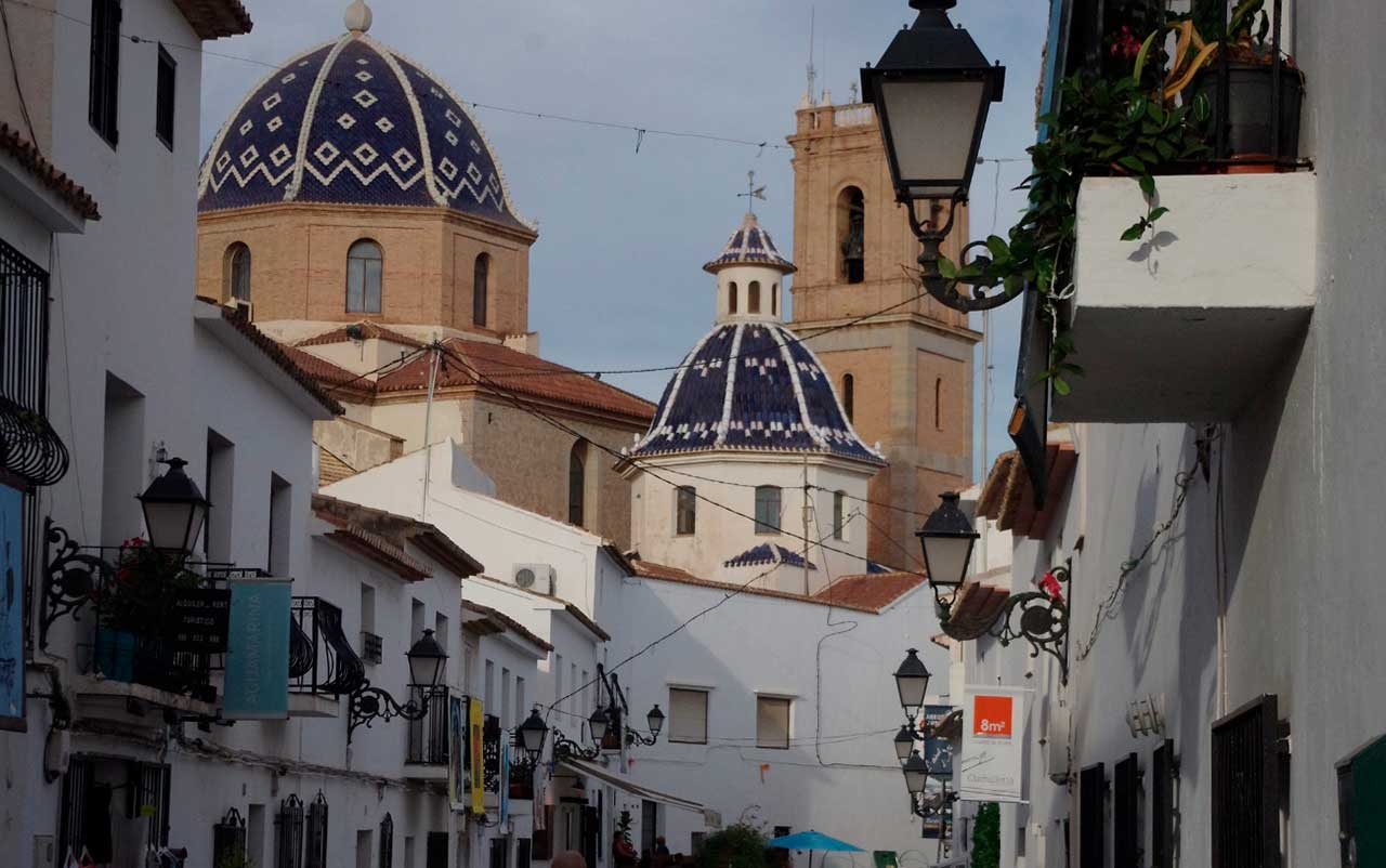 Altea, one of the top places to see and visit in Benidorm