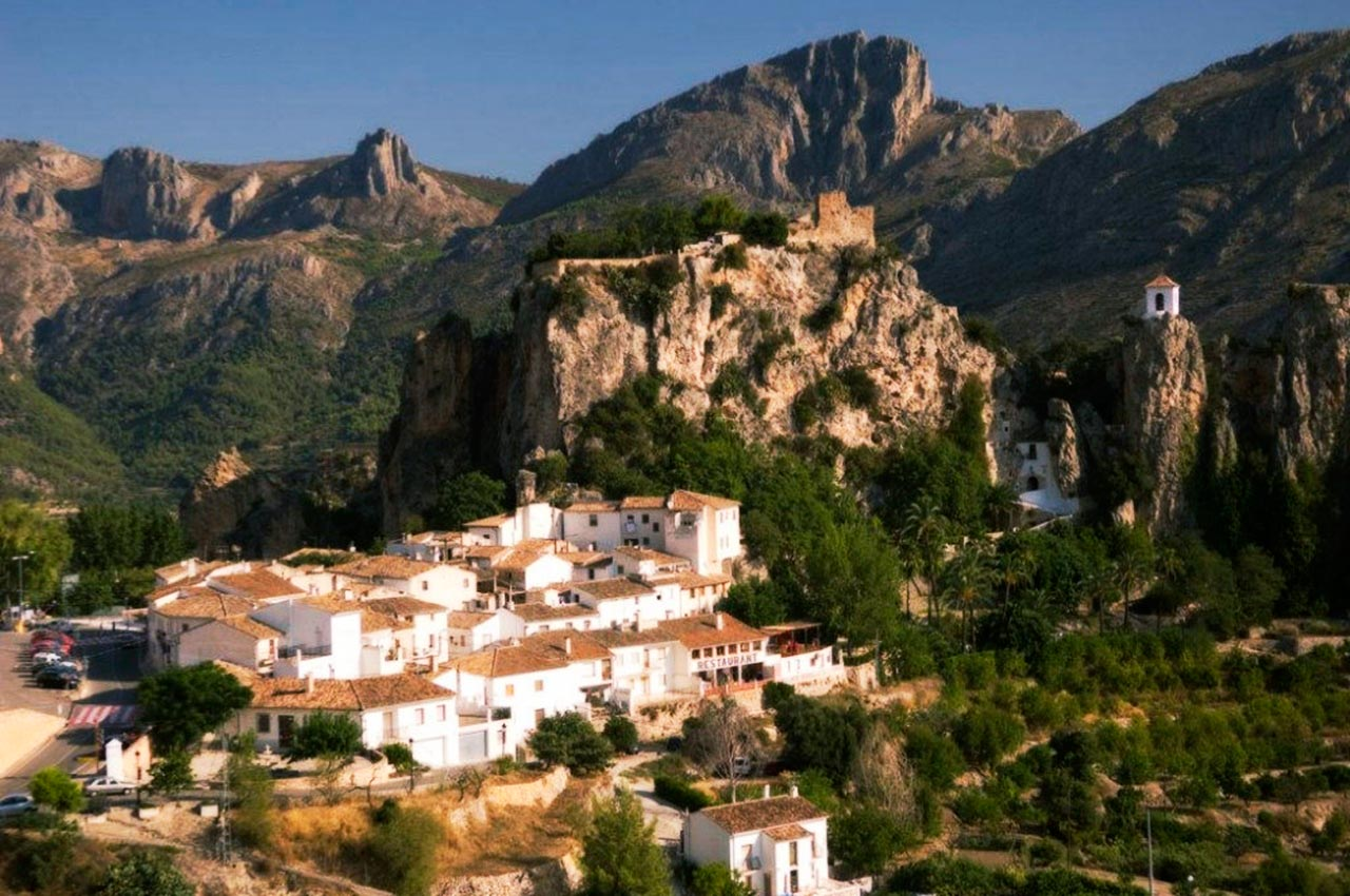Guadalest from Benidorm