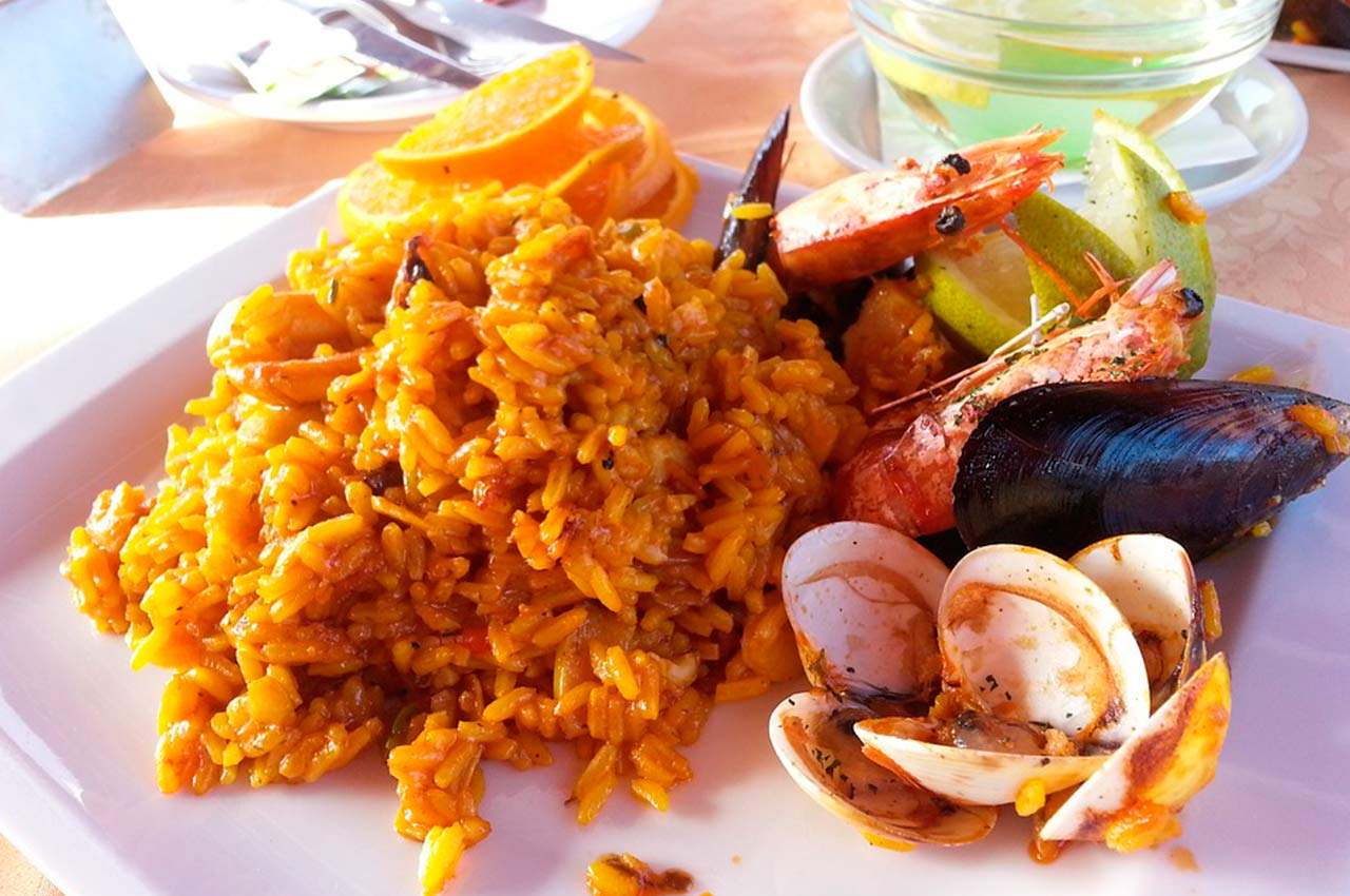 Arroz a banda in Benidorm Restaurants