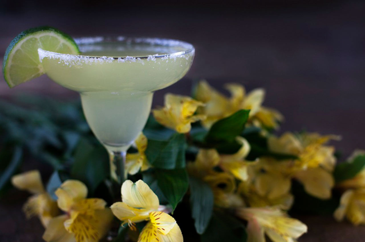 El famoso cóctel Margarita