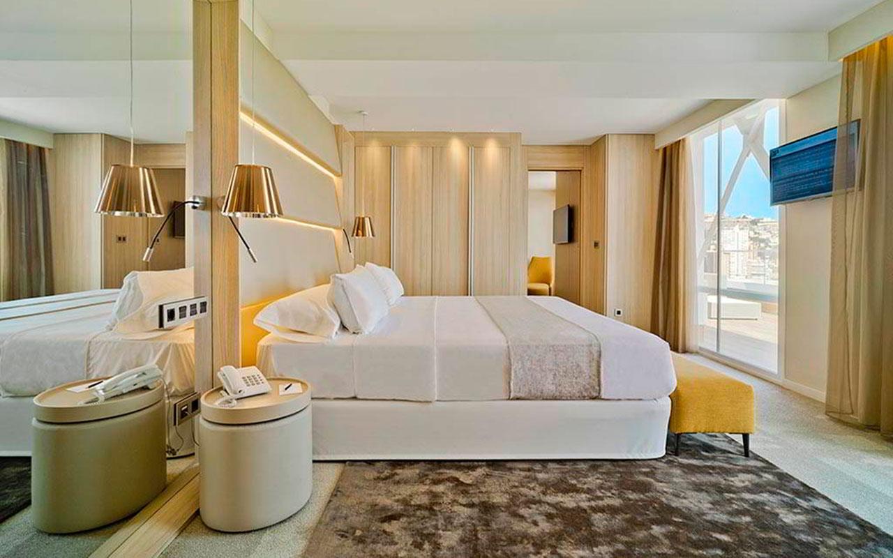 Habitaciones del Hotel para descansar