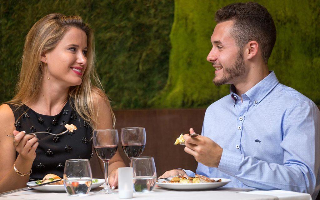 Hoteles sin niños y cenas románticas