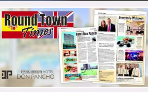 Benidorm´s newspaper Round Town Times features the Hotel Don Pancho in its latest issue