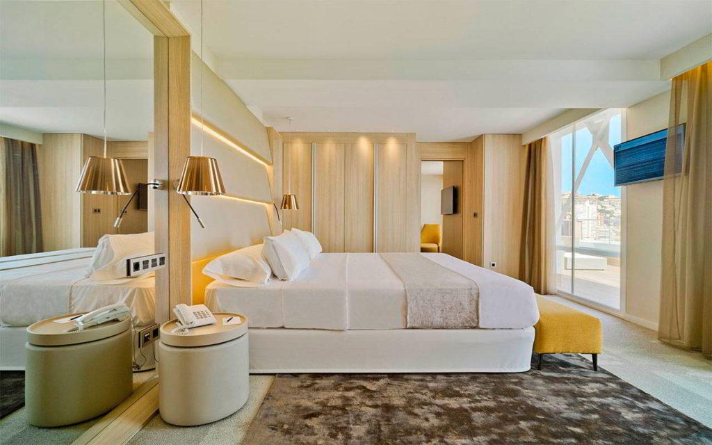 Suite de lujo en el ático | Hotel Don Pancho