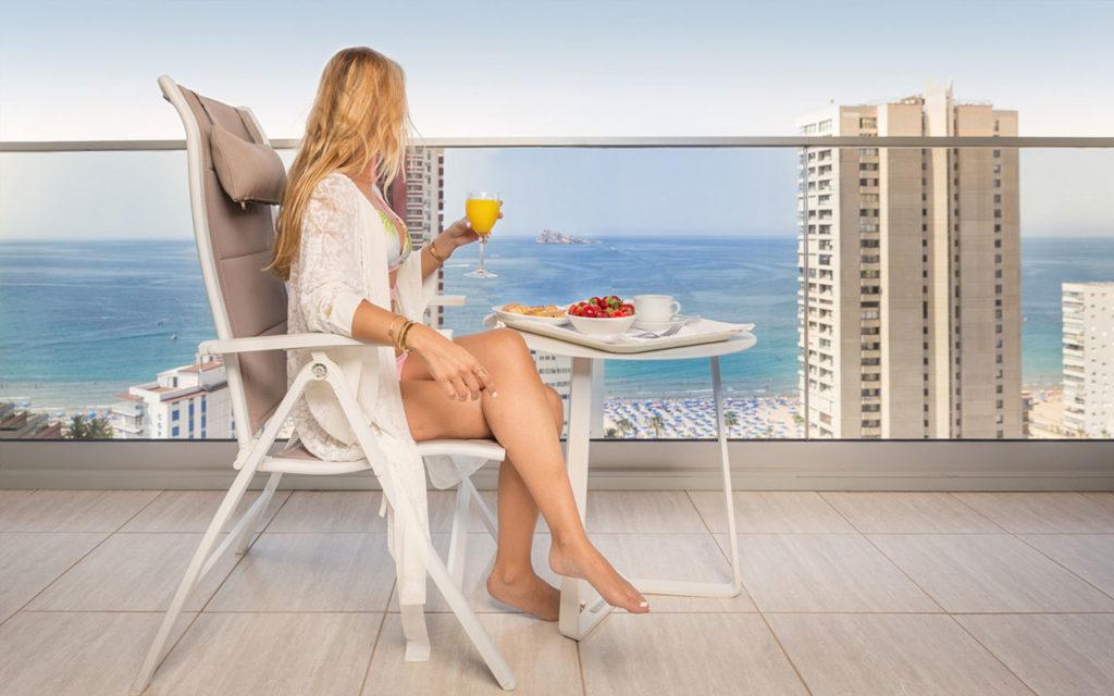 Suite de lujo frente al mar | Hotel Don Pancho