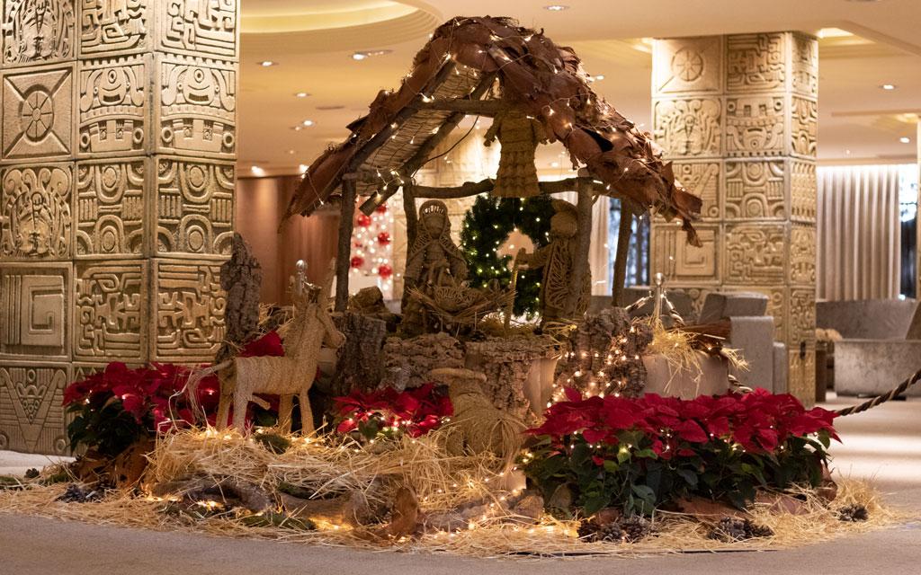 belen-navidad-hotel en benidorm Don Pancho