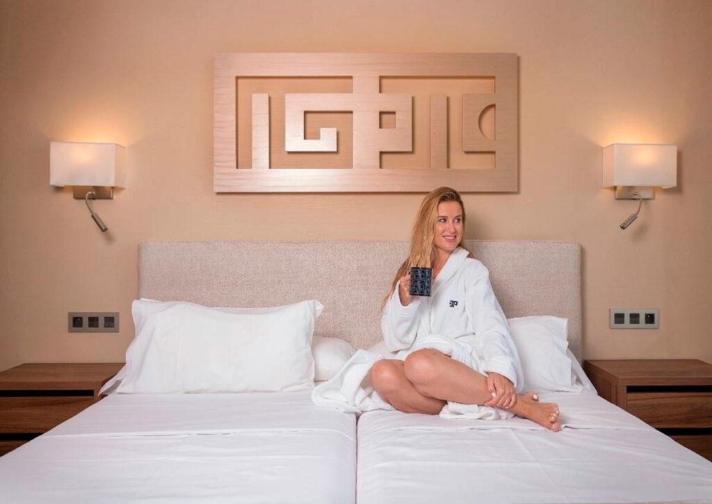 Descanso durante los eventos en hoteles
