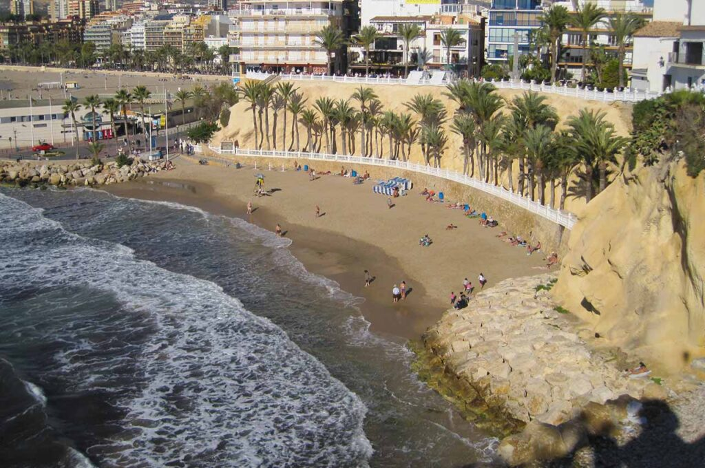 Cinema on Benidorm's beaches