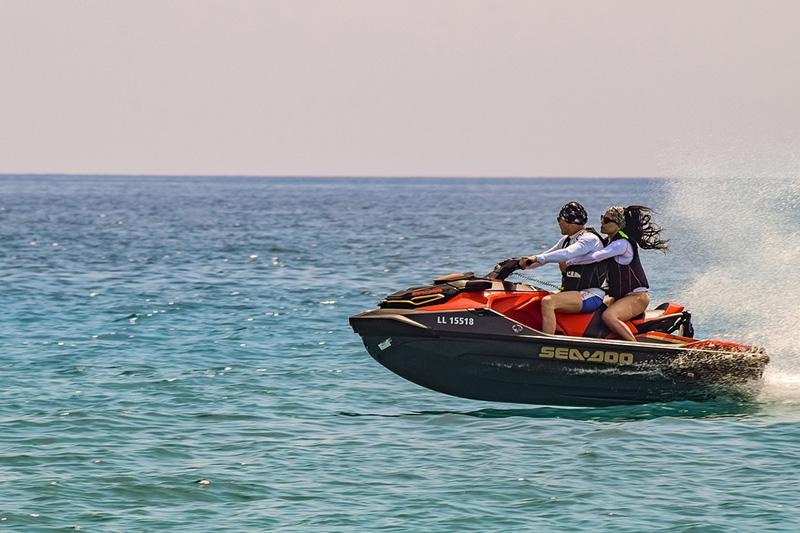 Try water sports in Benidorm