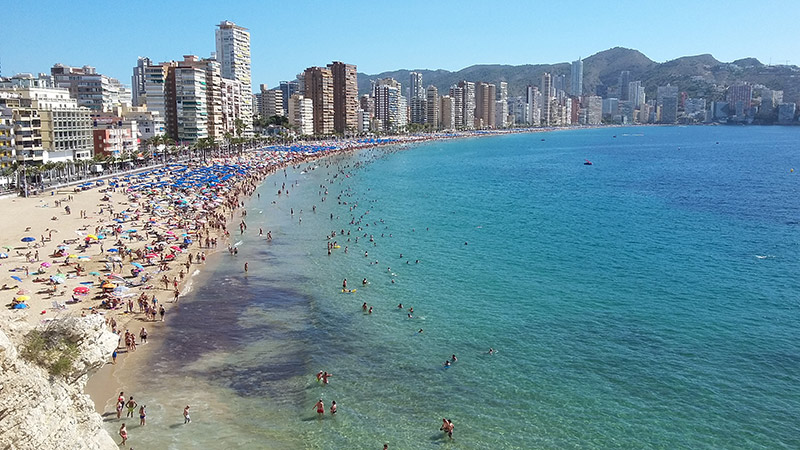 Things to do in Benidorm in August
