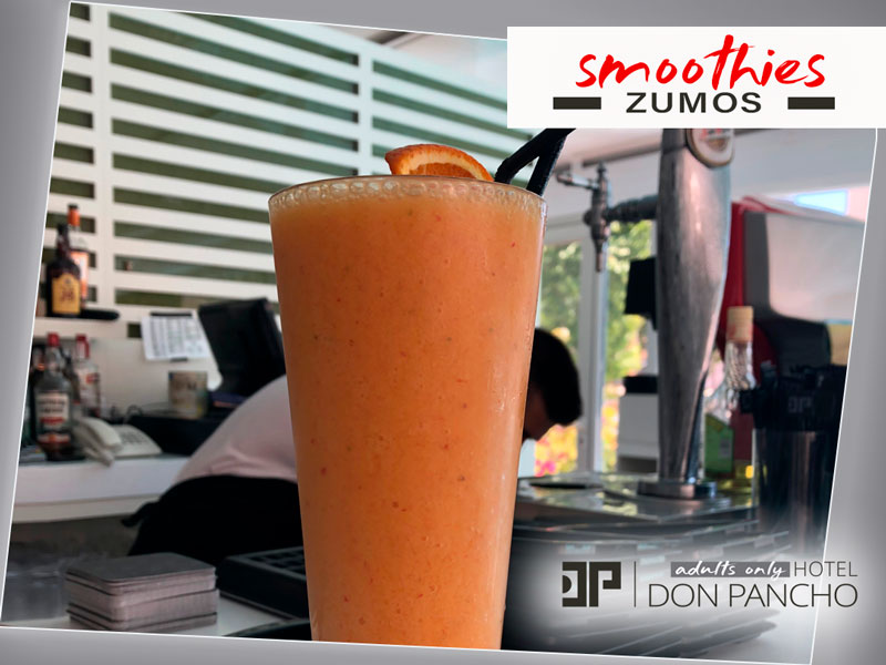 Smoothie Tropical con papaya y mango