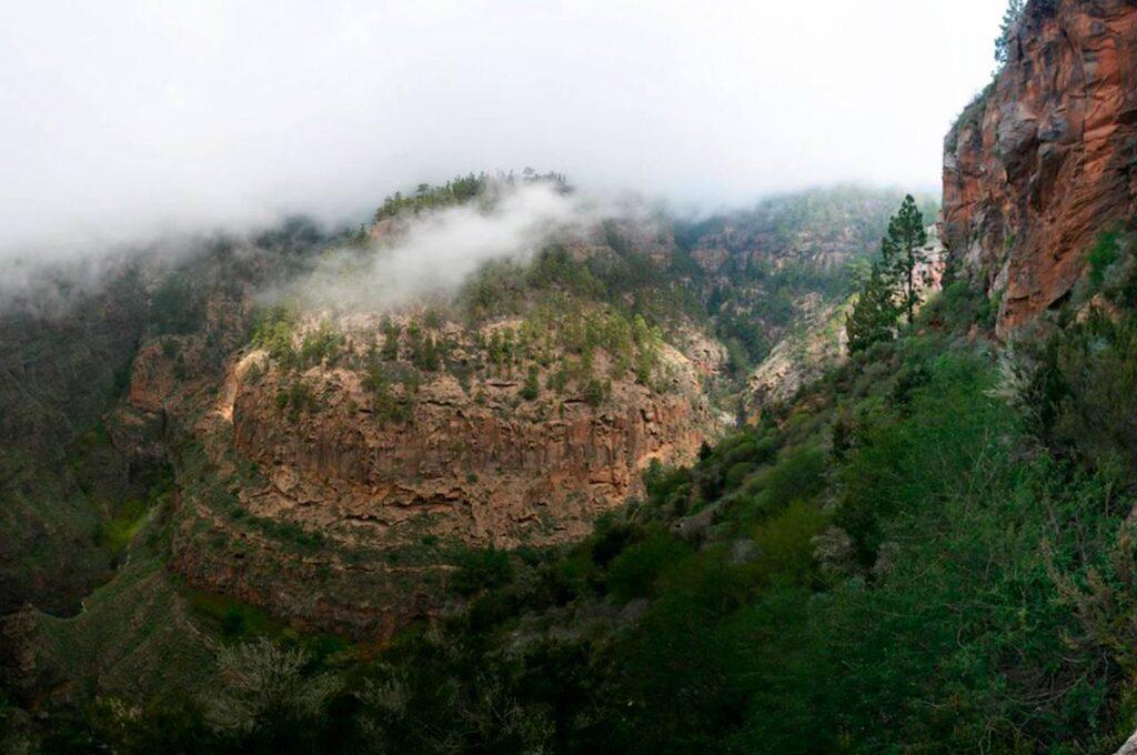 The Barranco del infierno in la Vall de Laguar