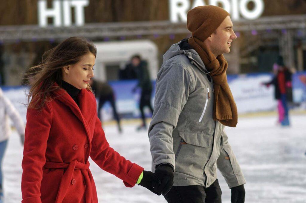 Patinar sobre hielo en Benidorm