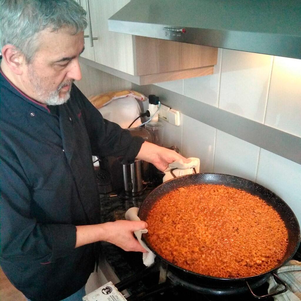 Receta Arroz de Senyoret Hotel Don Pancho Juan Cebollada Chef