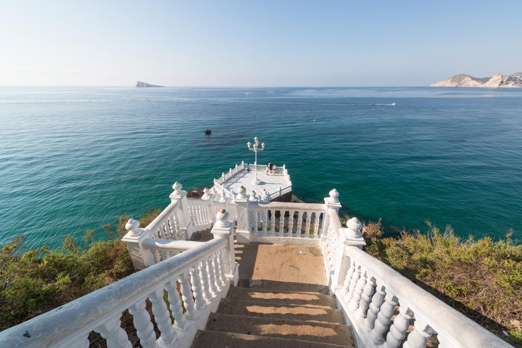 Balcón del Mediterráneo, lugares románticos en Benidorm