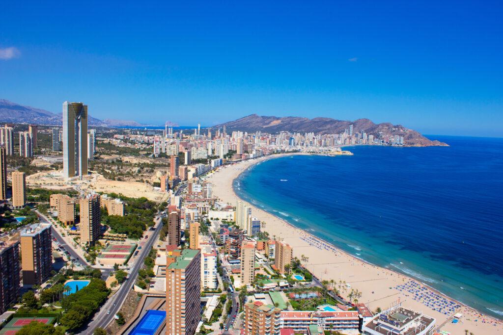 playa y litoral mediterráneo